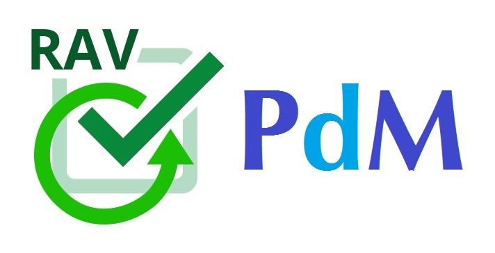 Immagine scritta RAV e PDM