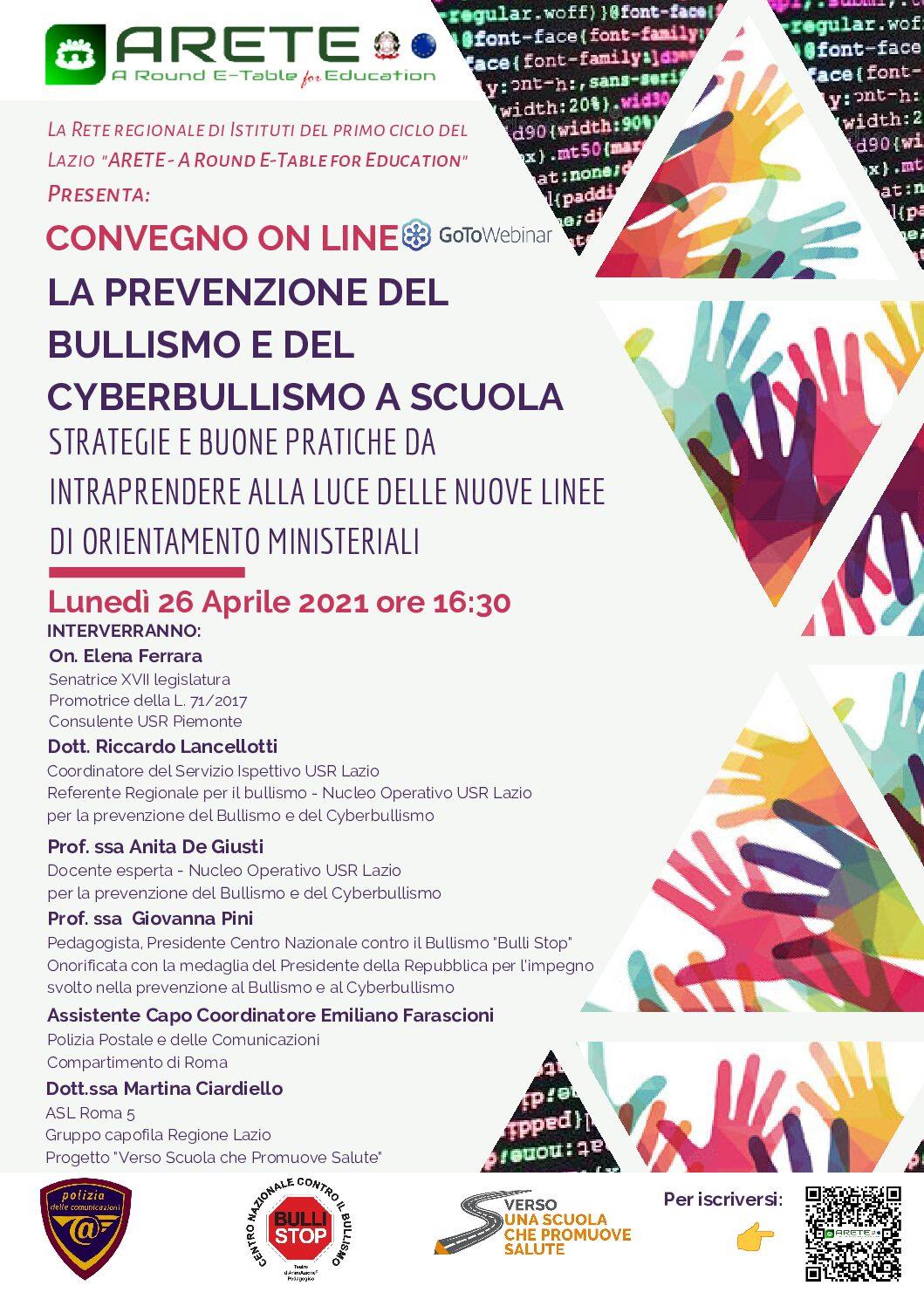 La prevenzione del bullismo e del cyberbullismo a scuola_PROGRAMMACORRETTO